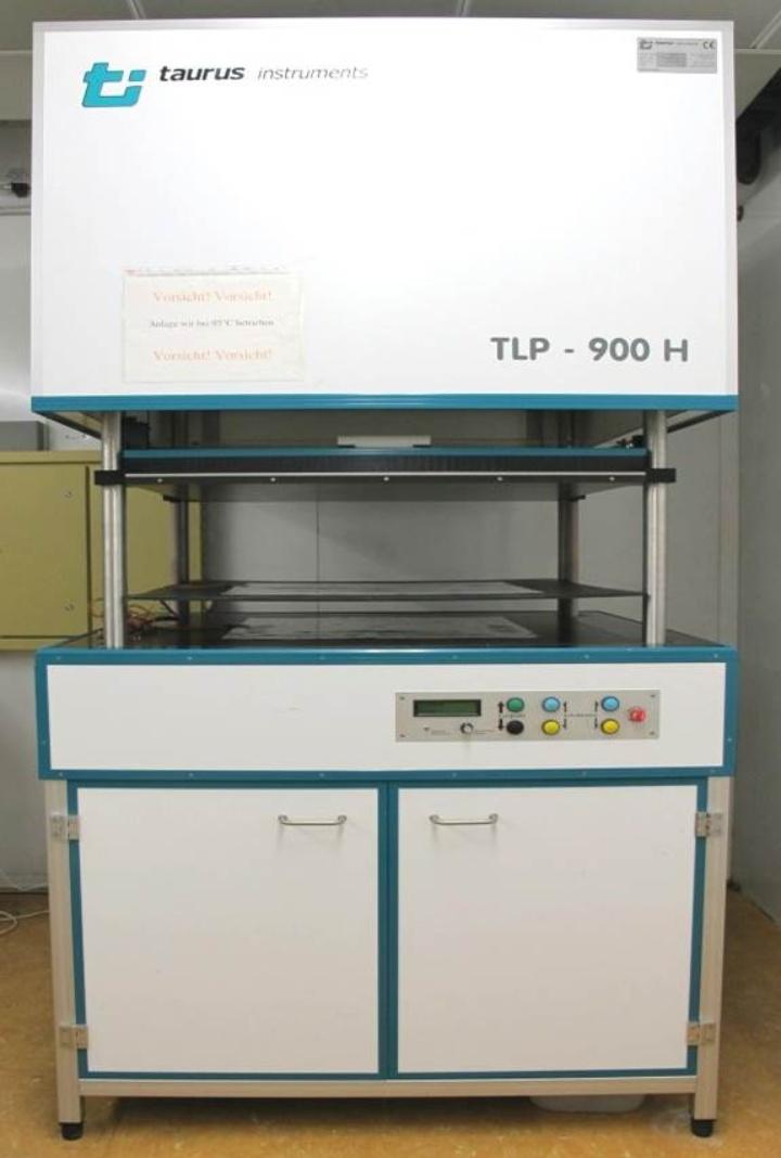 Zwei-Platten-Apparatur