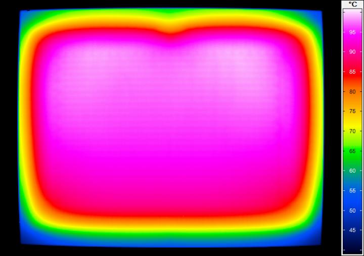 Thermografie-Aufnahme eines Heizkörpers (c)
